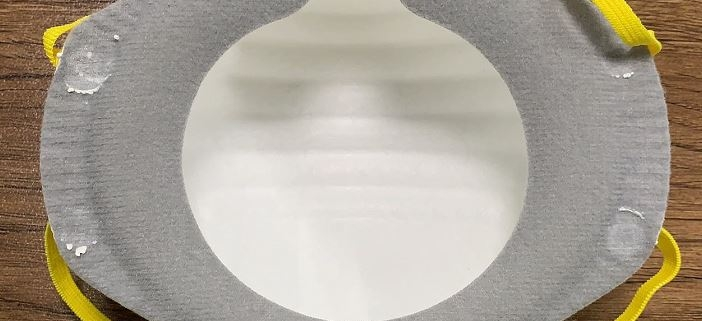 FFP2 protective mask respirators